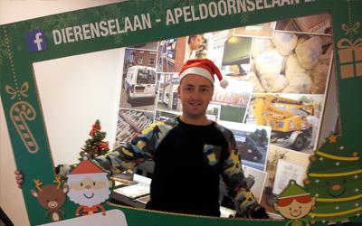 Zaterdag 24 december bezoek van de Kerstman en zijn Elfjes