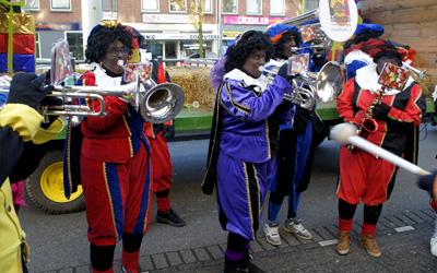 Sinterklaas met Pietenband 2 december