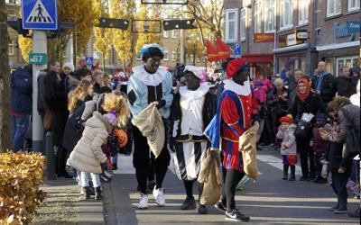 Grote Sinterklaasoptocht 24 november